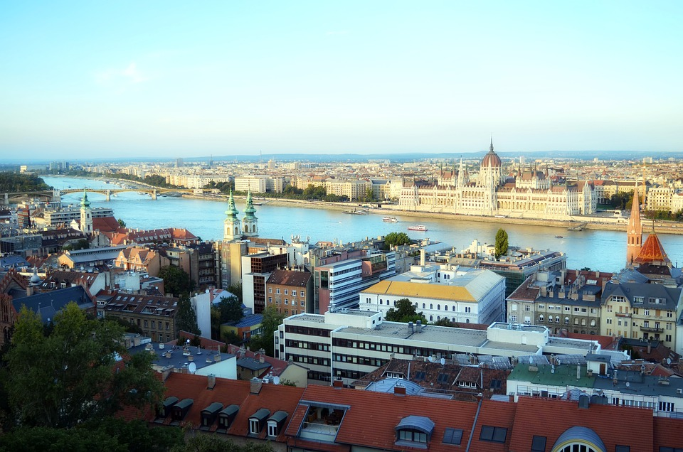 hlavní město Budapest