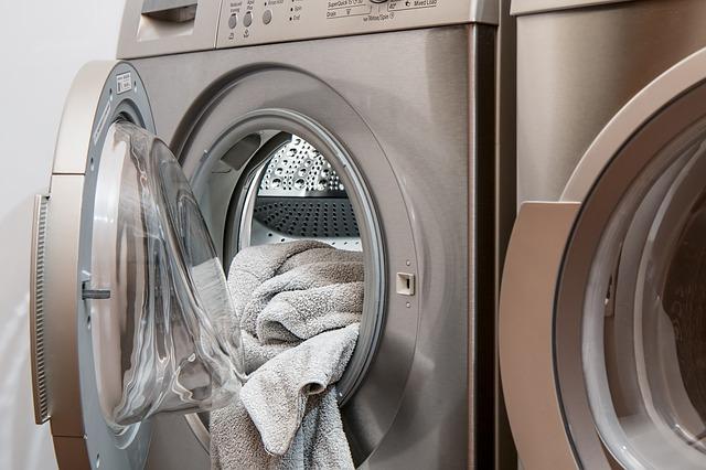 ručník a pračka