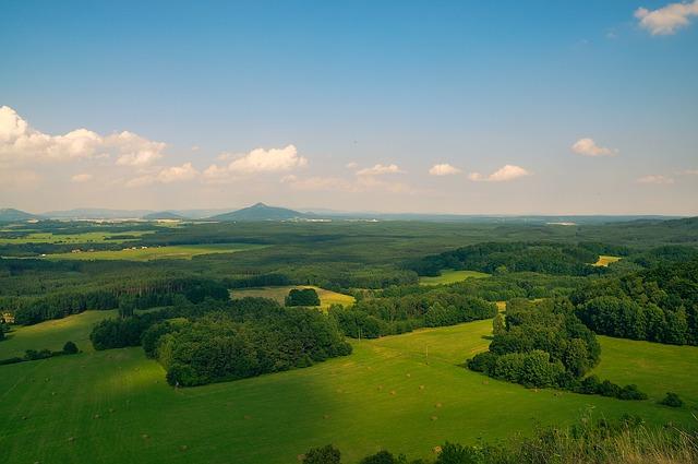 krajina v Česku
