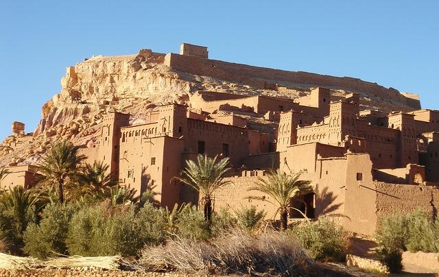 Pouštní pevnost, Maroko